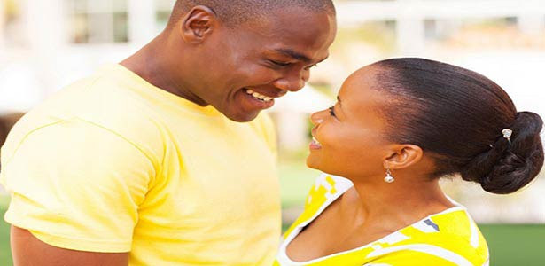 black couple talking for better communication in a relationship